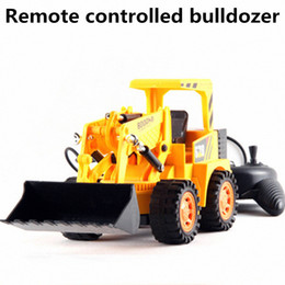 Wholesale Large diggers Engineering excavator vehicles Channels cable remote control vehicle Electric cars toys