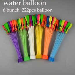 Wholesale 6 bunch Amazing Magic Water Balloon Bombs Toys filling Water Ballons Games Kids Summer Beach Party