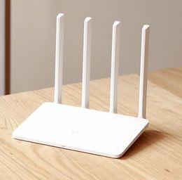 Wholesale CPU MT7620A ROM MB Flash original xiaomi mi WiFi router Dual band antenna GHz Mbps ac b g n APP Control