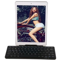 Wholesale Universal Bluetooth Mobile Keyboard Stand For Ipad Slim Design Portable Keyboard Easy To Carry Out Black White W2