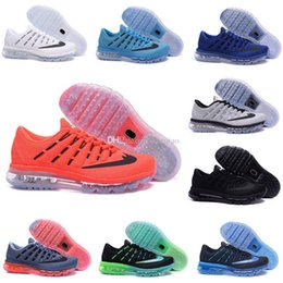 Wholesale 2016 Air Hot sales cheap Running Shoes Men shoes Sports Cushion Surface Breathable Maxes Retro Sneakers size