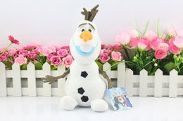 Wholesale OLAF Plush Small Size peluche olaf Doll Snowman brinquedos for Baby boys girls kid Children s Day Gift