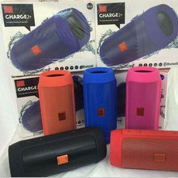 Charge 2+ Plus Wireless Bluetooth Speaker Mini Portable Speakers Support U-disck TF Card Colorful Best Quality Charge2+