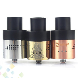 2015 Zephyr Buddha RDA 26650 Atomizer fit 26650 E Cigarette Mods black ss copper brass white with 36 Air Holes 510 DHL Free