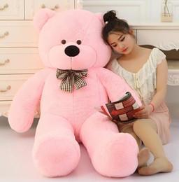 160CM 180CM 200CM 220CM grand géant brun rose ours en peluche jouet en peluche jouets gros jouets en peluche bébé fille poupée Livraison gratuite à partir de géant ours brun stuff toy fabricateur