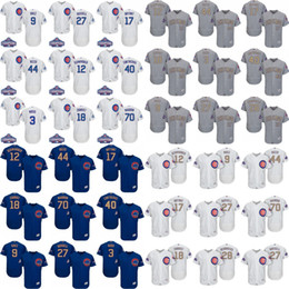 2017 men women youth Chicago Cubs Jersey 17 Kris Bryant 44 Anthony Rizzo 9 Javier Baez 12 Kyle Schwarber Baseball Jerseys