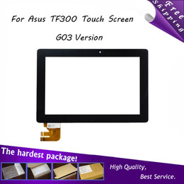 Wholesale New quot Inch For Asus transformer pad TF300 TF300t TF300tg tf300tl G03 Quad Core G Version Touch Screen Digitizer Glass Parts