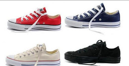 Wholesale 2016Credible Conver Chuck Tay Lor Shoes For Men Women Sneakers Run Sport Casual Low High Top Classic Skateboarding Canvas Cheap