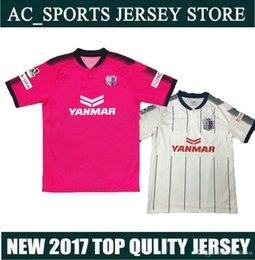 2017 camisetas de fútbol de color rosa 2017 J. Liga Urawa Cerezo Osaka camiseta de fútbol rosa, camiseta tailandesa de fútbol 16/17 Maillot De Foot Camisetas de fútbol camisetas de fútbol de color rosa promoción