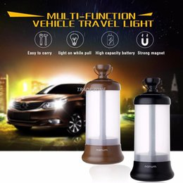 2017 New Design Vehicle Travel Light three color Travel Agency light with multi-function Car Camping lights