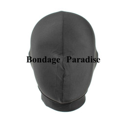 BONDAGE HOOD Full Headgear Spandex With Padded Eye Blindford Sex Products Adult Role Game