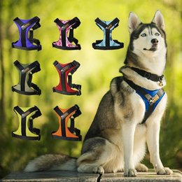 High Quality Adjustable Dog Harness 4 Sizes S M L XL Dog No Pull Easy Walking Running with Handle