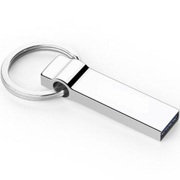 Wholesale Metal Mini USB Flash Drives G G G G USB2 Memory Sticks Stainless Steel Pen Drives