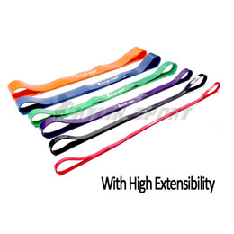 Wholesale RL24 Specifications Natural Latex quot Resistance Bands Loop Fitness Pull Up Physio Strengthen Muscles Yoga Exercise Fitness Equipment