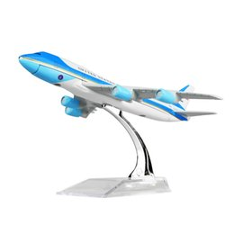 New hot sale 1:400 United States Air force one B747-200 16cm alloy metal model aircraft child Birthday gift plane models chiristmas gift