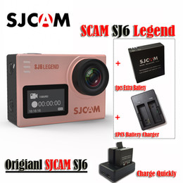 "Original SJCAM SJ6 LEGEND 4K 24fps Ultra HD Notavek 96660 Waterproof Sports Action Camera 2.0"" Touch Screen Mini Sports DV(Rose Gold)"