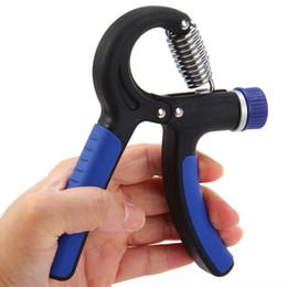 Descuento ejercitador de agarre 10 - 40Kg Ajustable TPR / PP Mano Grip Gimnasio Power Fitness Ejercitador de la Mano Muñeca Fuerza Fuerza Entrenamiento Heavy Grips + B