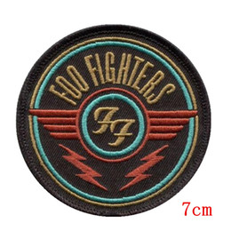 New arrival Symbol,Foo fighters wings logo for clothing ,embroidered iron on patch