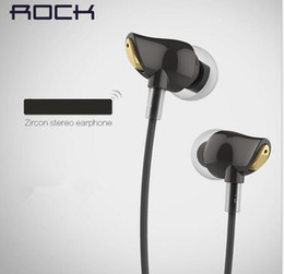 Wholesale Rock RAU0501 Zircon Stereo Earphone In Ear Amazing Noise Isolation In Balanced Immersive Bass Perfect Fone De Ouvido sem fi
