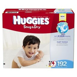 Wholesale Hies Snug Dry Baby Diapers Economy Plus Pack size size