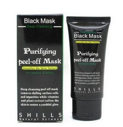 Wholesale Pore Cleaner Shills Deep Cleansing Peel Off Black Mud Shills Face Mask Remove Shills Blackhead Mask Activated Carbon ML