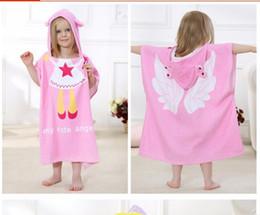 Wholesale IDGIRL New Cartoon Animal Baby Hooded Bathrobe Infant Bath Towel Bathing Robe For Children Kids Baby Bathrobe Pajamas JY0246