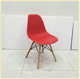 Wholesale Living Room Chair Bar Stool Dining Lounge Kitchen Armchair Modern Style Plastic Simple Assembly with Prepared Accessories Carton Packing New