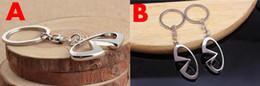 Infiniti porte-clés en Ligne-Pour INFINITI Car Logo Keychain Porte-clés Auto Key Parts Holder Emblème de voiture Styling pour Infiniti Q50 FX35 FX FX37 G37 G35 Porte-clés