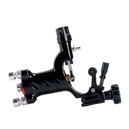 Hot Sales! Dragonfly Black Color Rotary Tattoo Machine Gun For Tattoo Needle Ink Cups Tips Kit