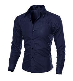 Free Shipping New Long sleeve men shirts Cotton Plaid shirts male casual Fashion mens shirts slim fit striped shirt men m-5xl
