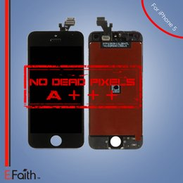 Wholesale For black iPhone LCD Display Touch Screen Digitizer full Assembly DHL shipping