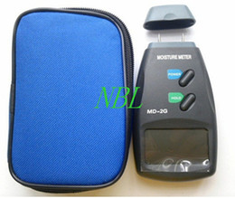 Wholesale New Pin Digital Moisture Meter Wood Firewood Timber Damp Tester Detector MD G Range to with Carry Bag