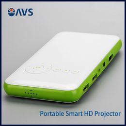 Descuento al por mayor de la ingeniería Venta al por mayor- económica portátil colorido Mini Wifi 8G proyector de memoria Uso del producto en Jome / teatro / ingeniería