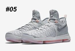 Kds blanc en Ligne-Kd 9 Chaussures de basket-ball Sneakers Runing Kevins Kds VIIII Lowe Elite blanc Durant Hommes Replica Kd9 Zapatillas Deportivas Chaussures de sport