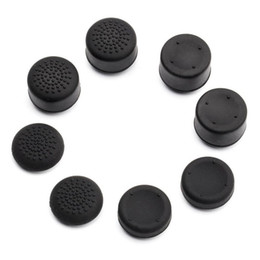 8 X soft silicone thumbstick grips thumb grips analog stick cap cover for Playstation 4 PS4 controller