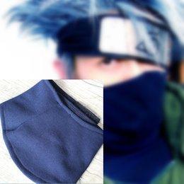 Kakashi hatake mask cosplay accessories Naruto mask Naruto Shippuden Japanese anime Naruto halloween Headband Masquerade Mardi Gras   Carni