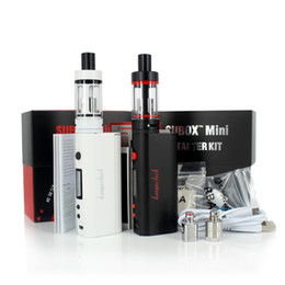 100% Authentic Kanger Subox Mini Starter Kit with 0.5ohm sub ohm OCC KBOX Mini 5W-50W vape 18650 mod E Cigarette DHL