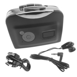 Wholesale Portable Tape to PC Cassette Tape to MP3 Converter Audio Capture adapter MP3 Format USB Flash Thumb Drive
