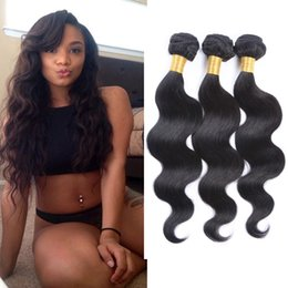 Resika Cheap Price Body Wave Brazilian Human Hair Weaves 100% Unprocessed Human Hair Extensions 3pcs lot human Hair Weft Free Shipping