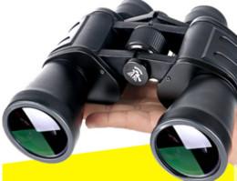 Descuento hd militar 60 * 60 Binoculars principales Bak4 Teleskop Poder Binoculo Profesional Telescopio Militar Monocular HD Noche Óptica Óptica Big Ojo