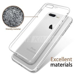 Wholesale Ultra Thin for Iphone Plus Iphone S Plus Case S8 S7 Edge S6 Edge Plus Crystal Clear TPU Silicone Soft Cover