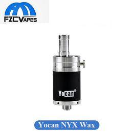 Wholesale Original Yocan NYX Vaporizer QDC Technology Wax Tank with Dual Quartz Coil Vaporizer fit W W Devices Huge Vapor Purest Taste Atomizer