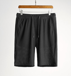 Enduring honeycomb mesh fabric ~ summer handsome men's casual gym shorts
