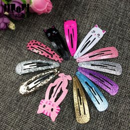 MLJY Cartoon Headwear Shiny Girl Animal Hairpin kid's Barrettes Hair Clips Jewelry Children Hair Accessories 6 set lot Free Shipping