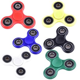 2017 EDC Fidget Spinner toy finger spinner toy Hand tri spinner HandSpinner EDC Toy For Decompression Anxiety Toys with retailed box dhl oth