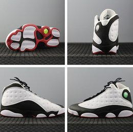 Drop ship 2017 top quality retro XIII He Got Game man basketball shoes with box retro 13S size 41-47 wholesale