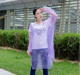 disposable rain suit, Fashion clear lightweight best rain poncho, waterproof overalls Rainwear Travel