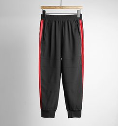2017 Men's sport capris pants fitness jogger sweat training pants~cool loose tracksuit pants