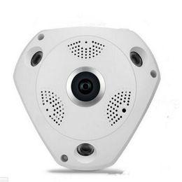 Wholesale Best HD WiFi Panoramic ip Camera Degree Fisheye Smart CCTV Camera Video Storage Remote IR CUT Onvif Audio in P2 Hiseeu