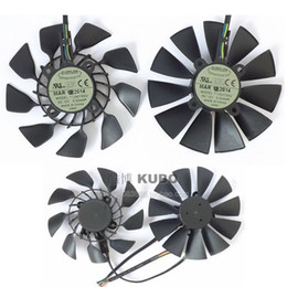 Free shipping For ASUS STRIX GTX780 780TI GTX970 980 R9 280x 290X graphics card fan T129215SU 12V 0.5A